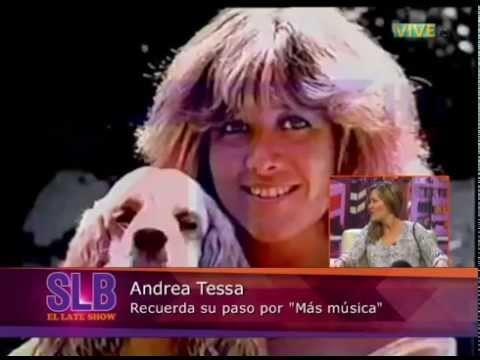 """Andrea Tessa: """"La música ha sido mi vida"""""""