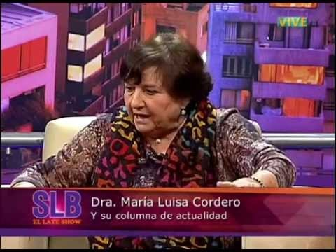 Dra. Cordero y su columna sobre la salud en Chile