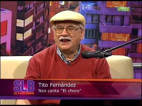 Tito Fernández  adelantó las fiestas patrias en el Late de Julio César