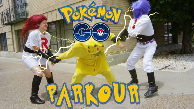 Pokémon Go en versión parkour