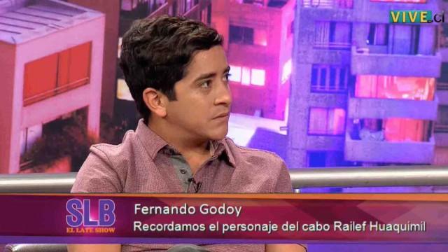 Fernando Godoy confiesa que pensó que moría el día del fallecimiento de su personaje.