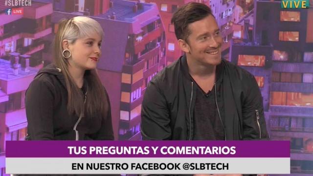 """[VIDEO] """"Ana Rogue"""" y """"Andrés Kris"""" del canal Random fueron entrevistados en SLBtech"""