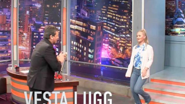 Vesta Lugg responde al épico troleo por usar polera de Iron Maiden