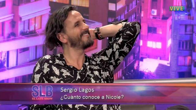 """""""La  osada"""" confesión de Sergio Lagos sobre su esposa Nicole"""