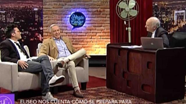 [VIDEO] Eliseo Salazar reaparece en televisión para hablar de su paternidad