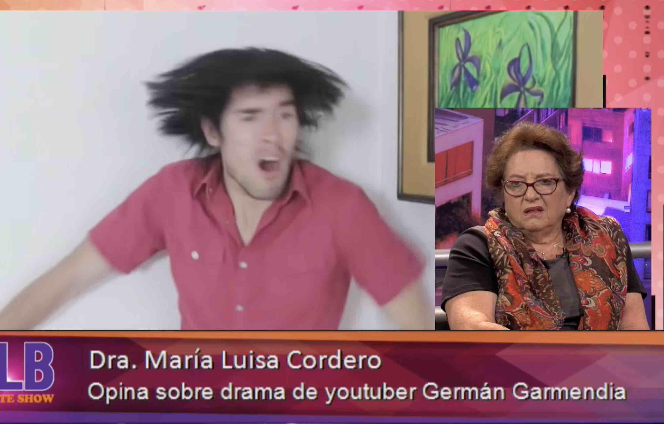 Doctora Cordero analisa el fenómeno German Garmendia