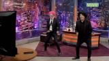 SLB: Julio César Rodríguez y Chelipe bailaron al ritmo de #JustDance 2017 #NintendoSwitch