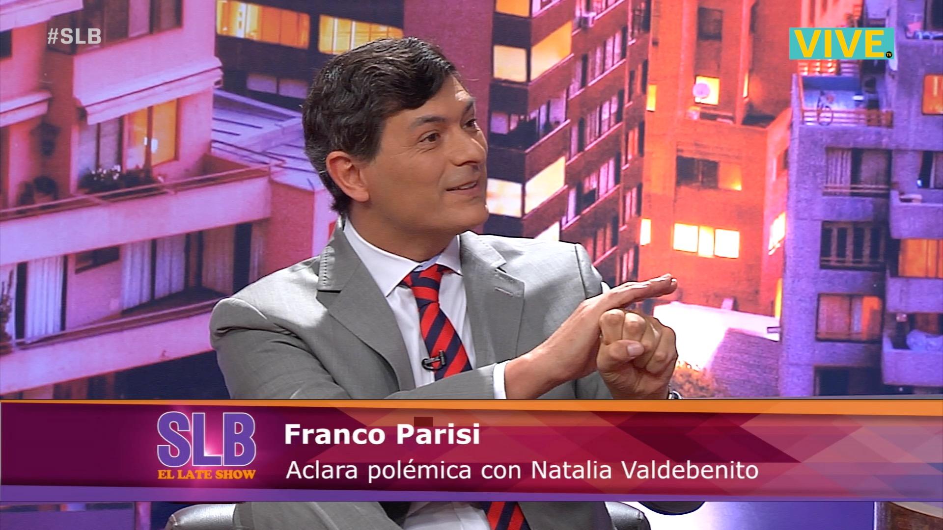 SLB. Franco Parisi le respondió a Natalia Valdebenito