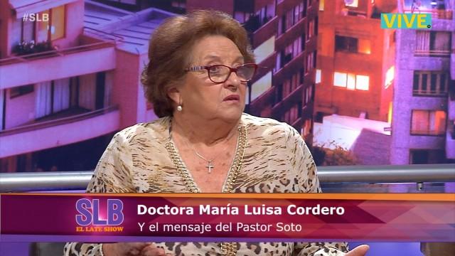 Dra Cordero se refiere a los polémicos dichos del Pastor Javier Soto