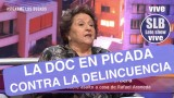 SLB. Doctora Cordero en picada contra los casos de delincuencia que aquejan al país