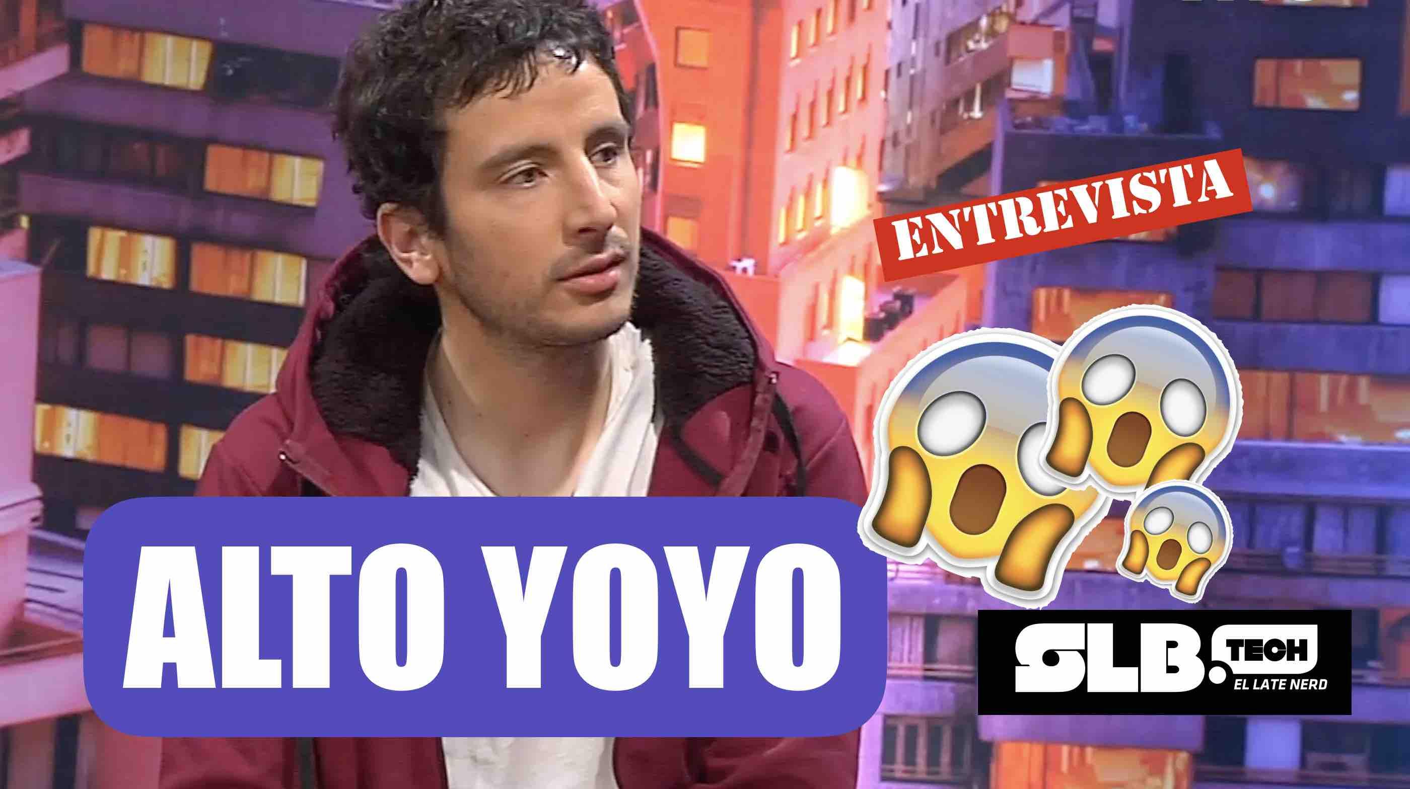 SLBtech. Conversamos con el actor y comediante Alto Yoyo