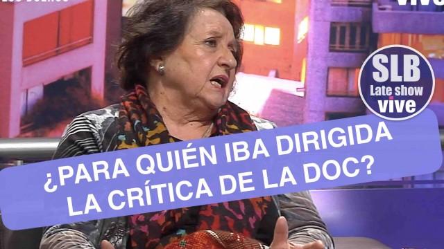 Dra Cordero esbozó una crítica a reconocido rostro de tv