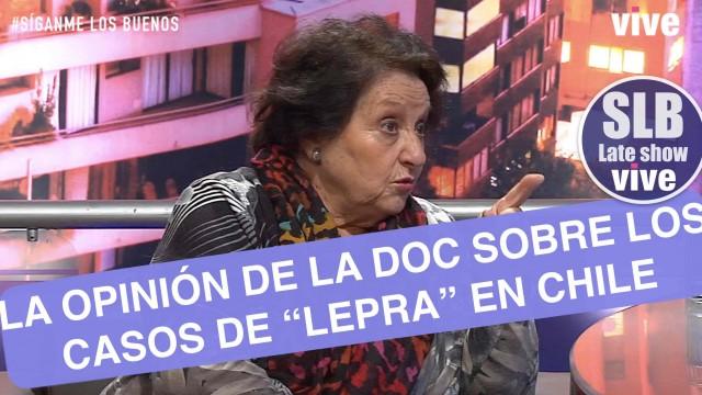 SLB – Dra Cordero opina sobre los casos de Lepra en Chile