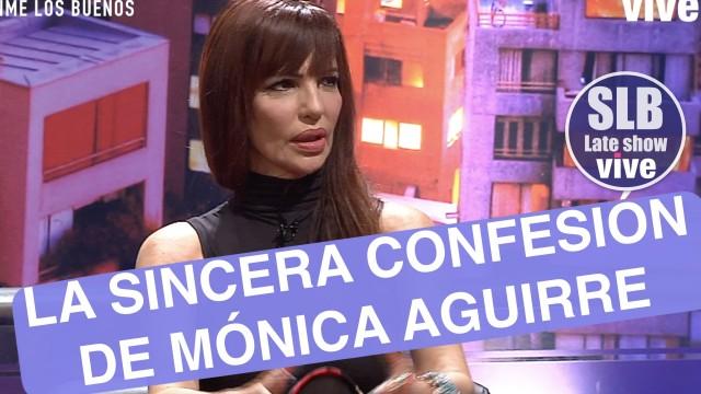 """[VIDEO] SLB. Mónica Aguirre se sincera: """"Pasé momentos de mucha necesidad en lo económico"""""""