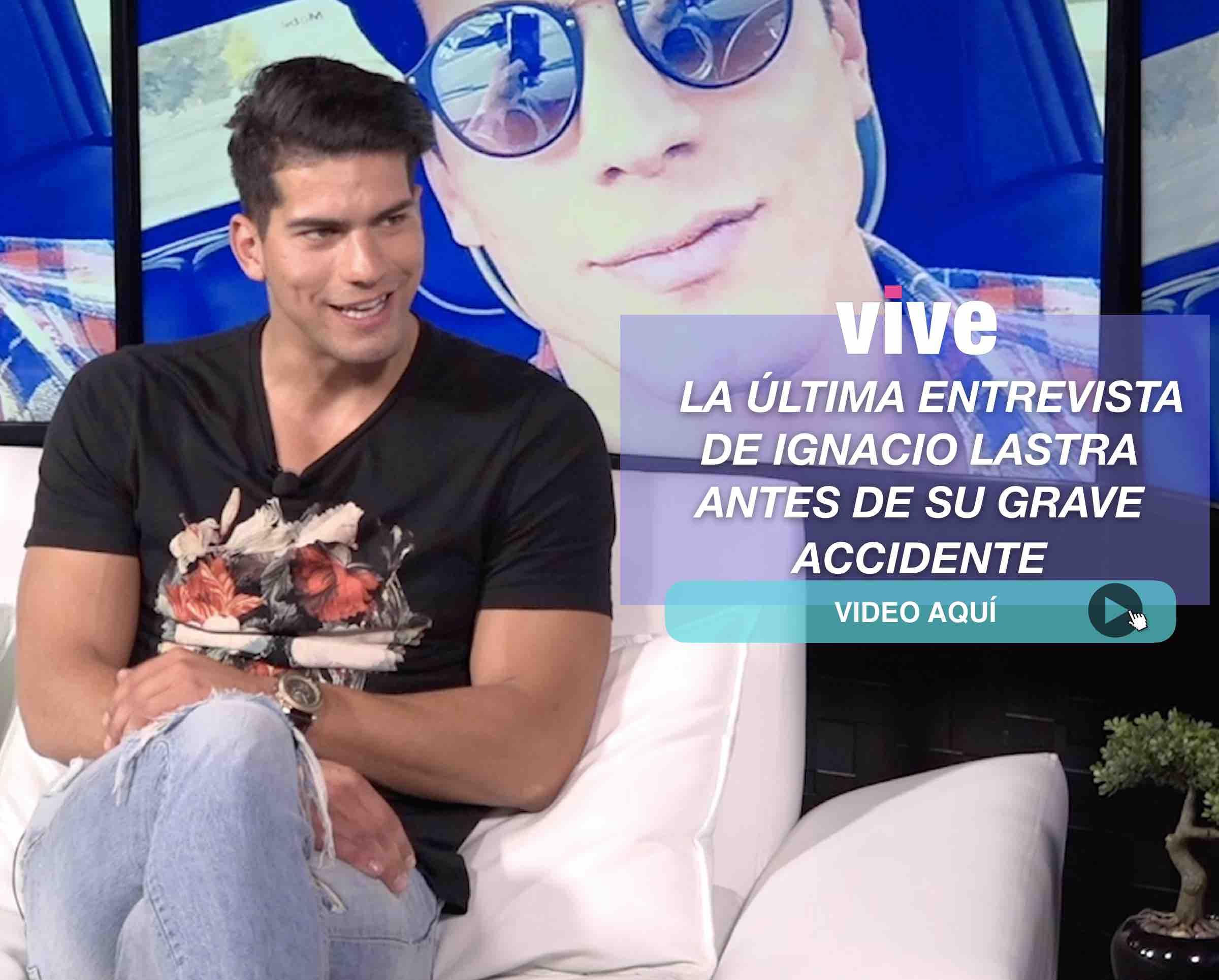 Vanguardistas. La entrevista de Ignacio Lastra horas antes de su grave accidente