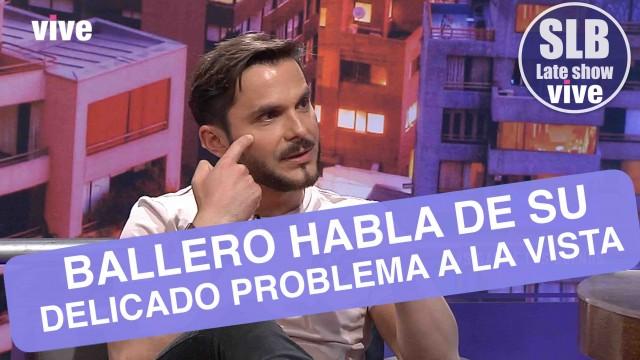 Álvaro Ballero habla de su lucha contra la ceguera