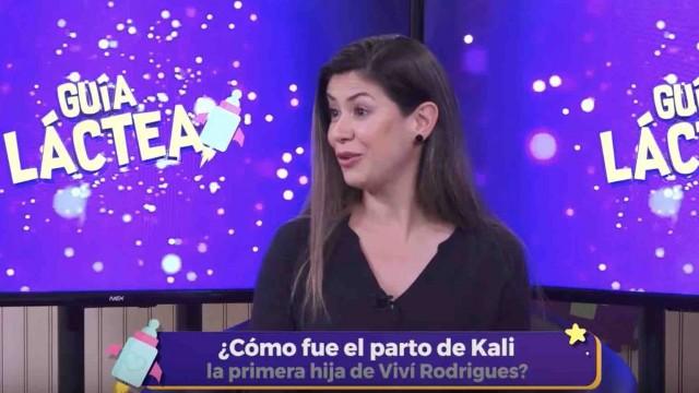 Viví Rodrigues habla de su embarazo en Guía Láctea