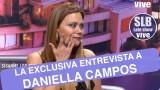 Daniella Campos habló en exclusiva en SLB