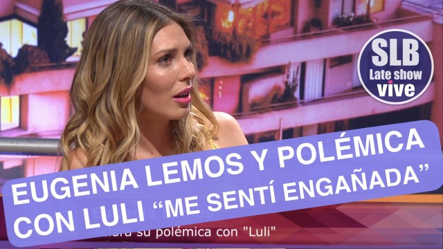 """Eugenia Lemos habla de su paso por la Divina Comida """"Me sentí engañada"""""""