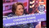 """""""[VIDEO]"""" La reflexión de la Dra Cordero sobre el fallecimiento del menor en el auto"""