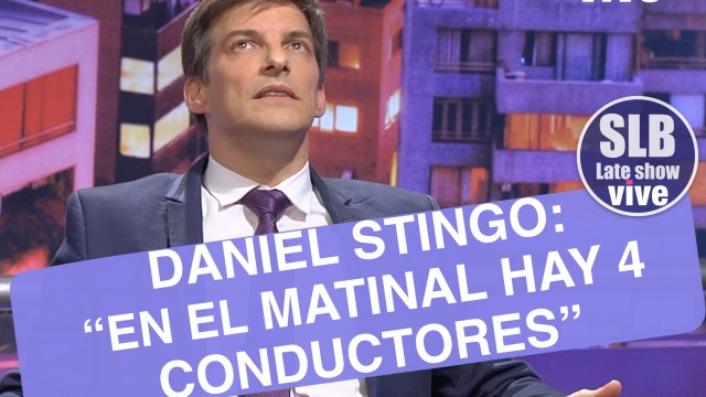 "Daniel Stingo asegura que el matinal de ""Mega"" tiene 4 conductores"