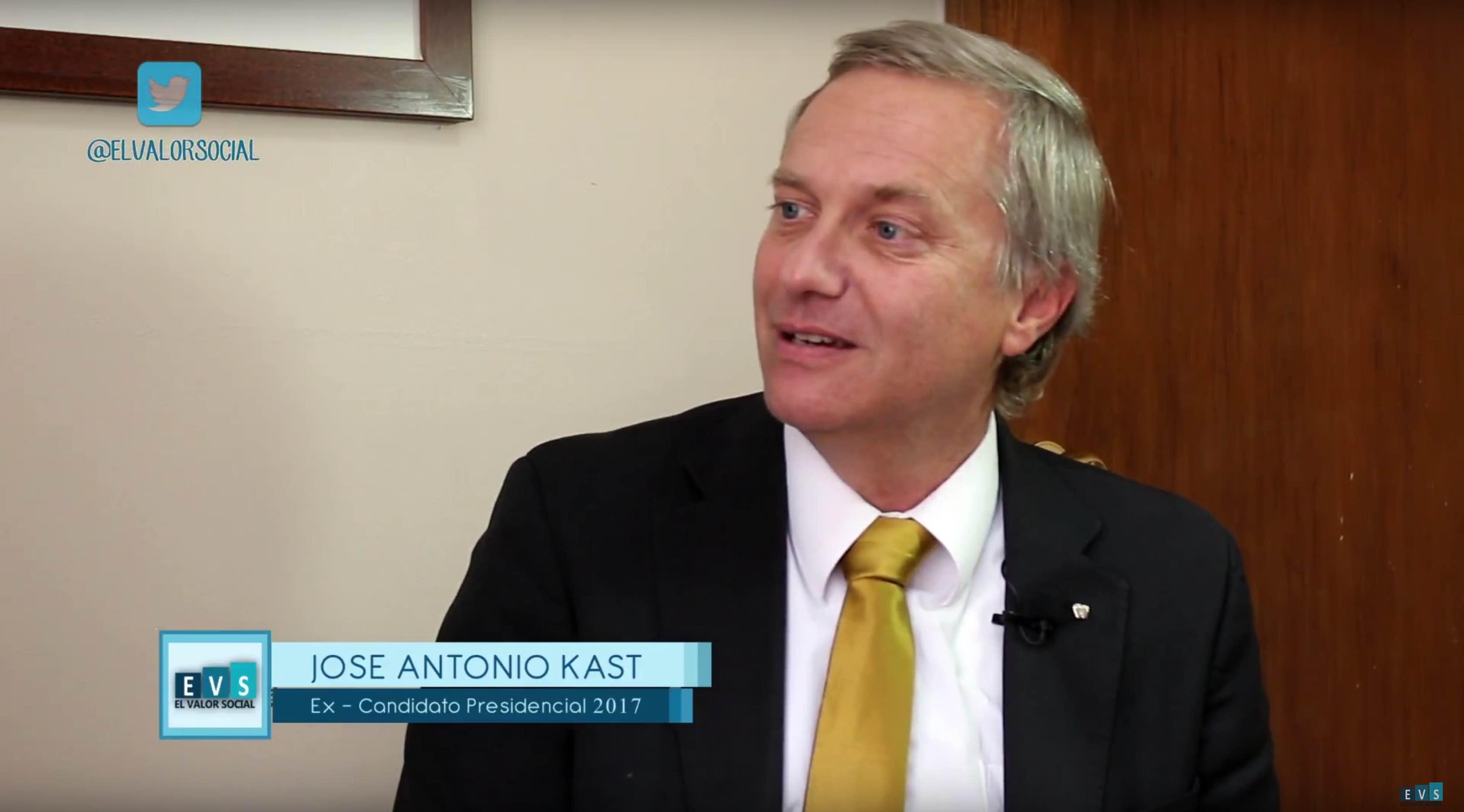 El Valor Social: Entrevista a José Antonio Kast