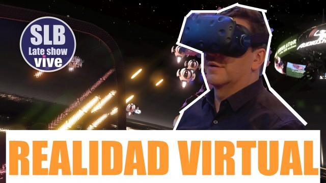 SLB. JC Rodríguez junto a Chelipe prueban la HTC Vive