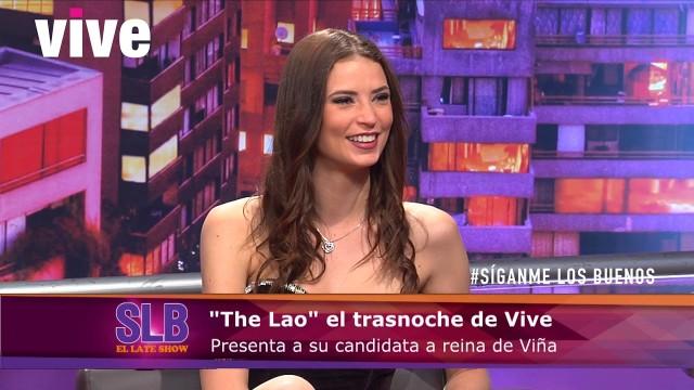 Julia Fernández se postula como candidata a reina de Viña 2018