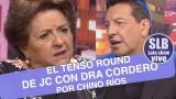 SLB. El duro round entre JC y Dra Cordero por Chino Ríos