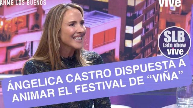 """Angélica castro: """"Estaría feliz de animar Viña"""""""