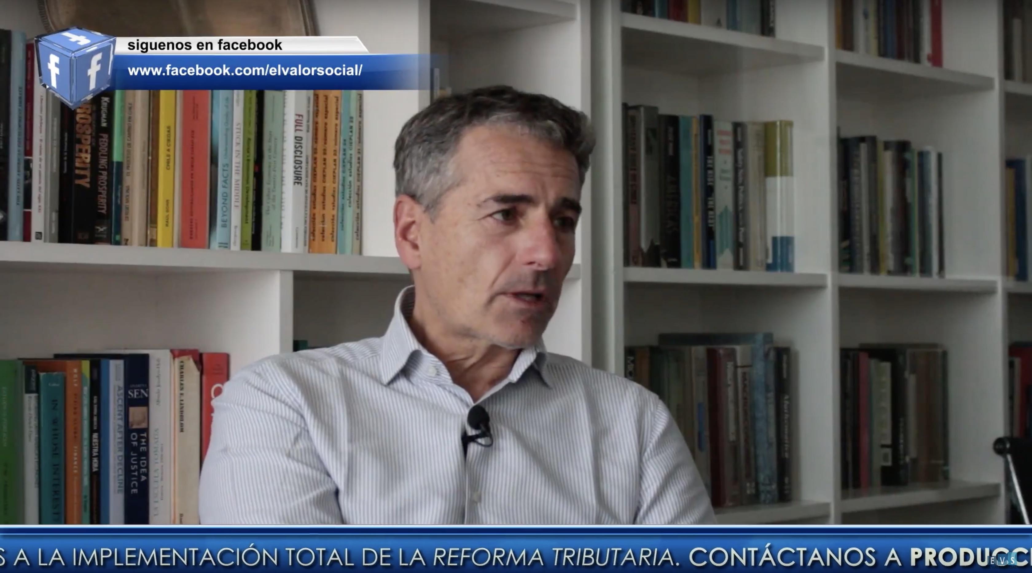 El Valor Social: Entrevista a Andrés Velasco