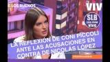 """Coni Piccoli por caso Nicolás López: """"Las mujeres la hemos cagado al normalizar situaciones""""."""
