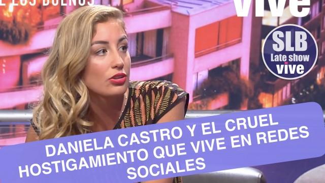 SLB. Una emocionada Daniela Castro relata cruel hostigamiento en redes sociales