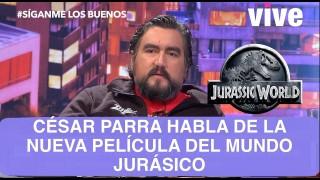 SLB. César Parra habla de la nueva película Jurassic World