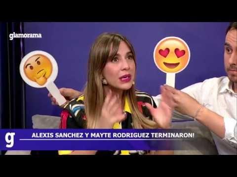 #GlamoramaTV   El quiebre de Alexis Sánchez y Mayte Rodríguez
