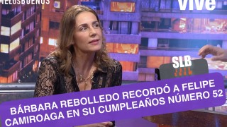 SLB. Bárbara Rebolledo reveló detalles de su relación con Felipe Camiroaga