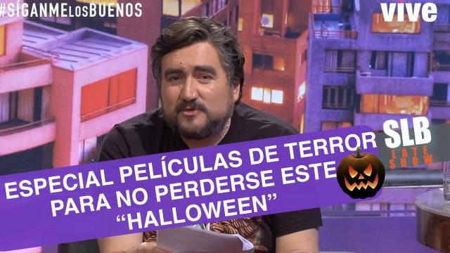 """SLB- César Parra y un especial de películas de terror para """"Halloween"""""""