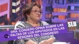 SLB- La opinión de la Dra. Cordero sobre los parlamentarios del país