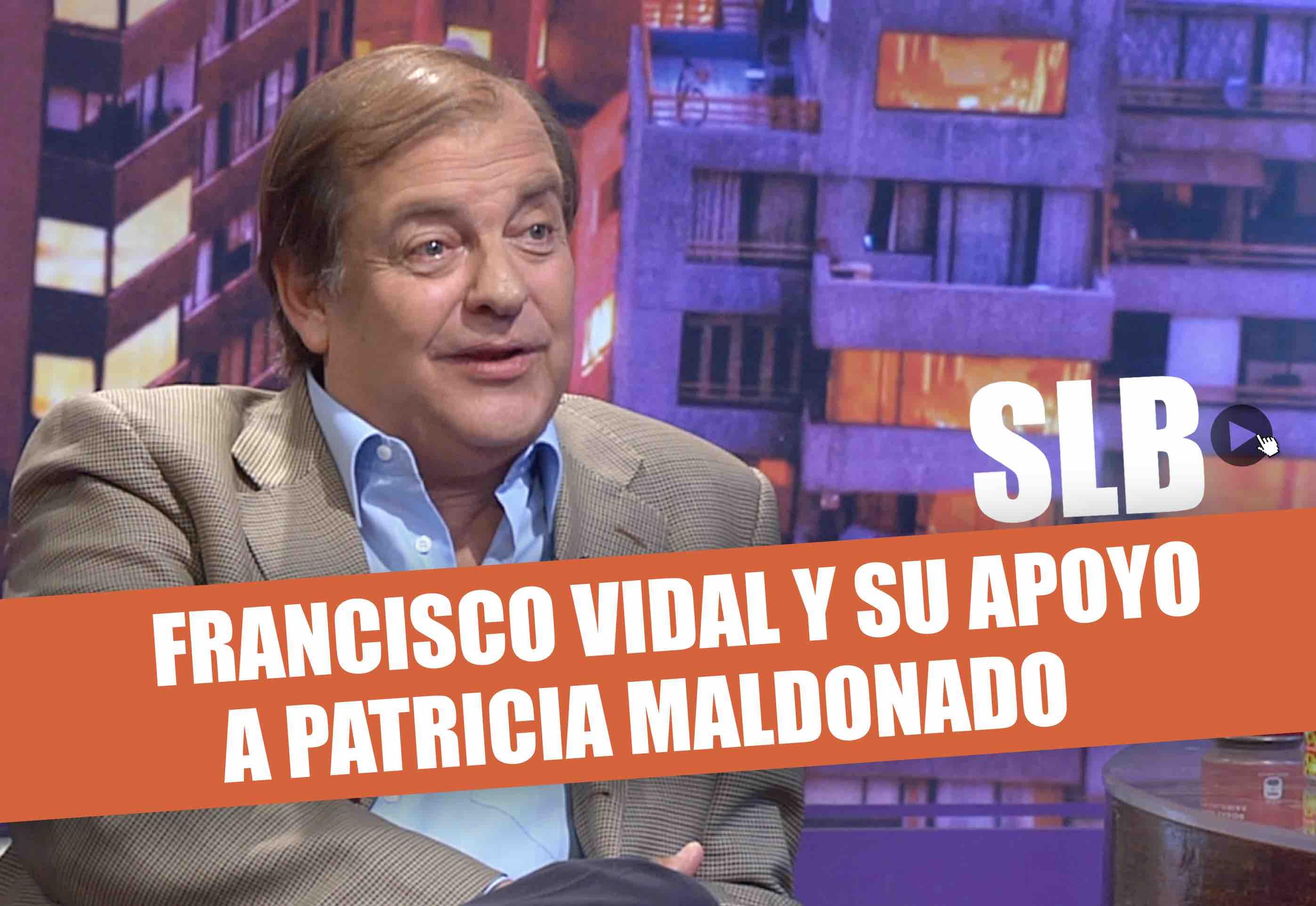SLB. Francisco Vidal respalda a Patricia Maldonado