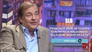 """""""[VIDEO]"""" La clara defensa de Francisco Vidal a Patricia Maldonado: """"Ella debe seguir en la TV"""""""