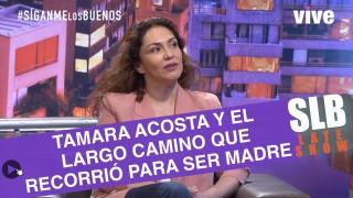 SLB. Tamara Acosta entrega detalles de su maternidad asistida
