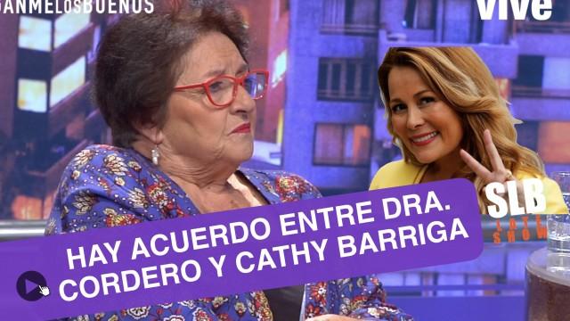 SLB. Dra. Cordero se disculpó con Cathy Barriga