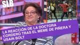 """SLB- Doctora Cordero y su reacción tras el meme de Piñera: """"Me gustaría ser su asesora"""""""