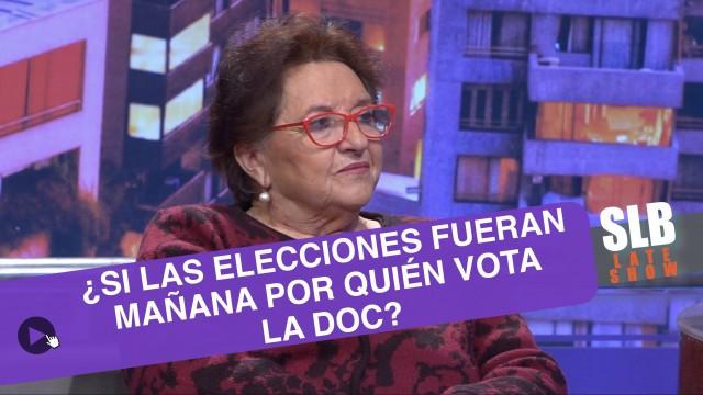 SLB. Dra. Cordero ya tiene su elegido para las próximas presidenciales