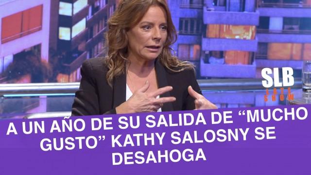 """Kathy Salosny a un año de su salida de """"Mucho Gusto"""": """"Fue ingrato"""""""