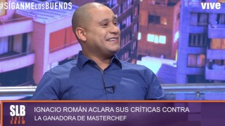 SLB- El ex Master Chef Ignacio Román se emocionó al recordar su cambio de vida