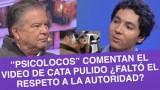 """""""Psicolocos"""" analizaron la reacción de la actriz Cata Pulido"""