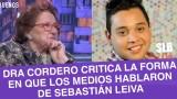 """SLB. Dra. Cordero critica exhibicionismo de los medios por caso """"Cangri"""""""