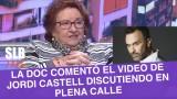 SLB. Dra. Cordero comentó el altercado protagonizado por Jordi Castell