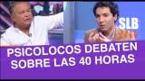 SLB. Psicolocos y el debate por las 40 horas